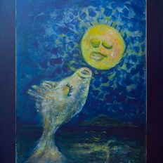 Moon kissing fish